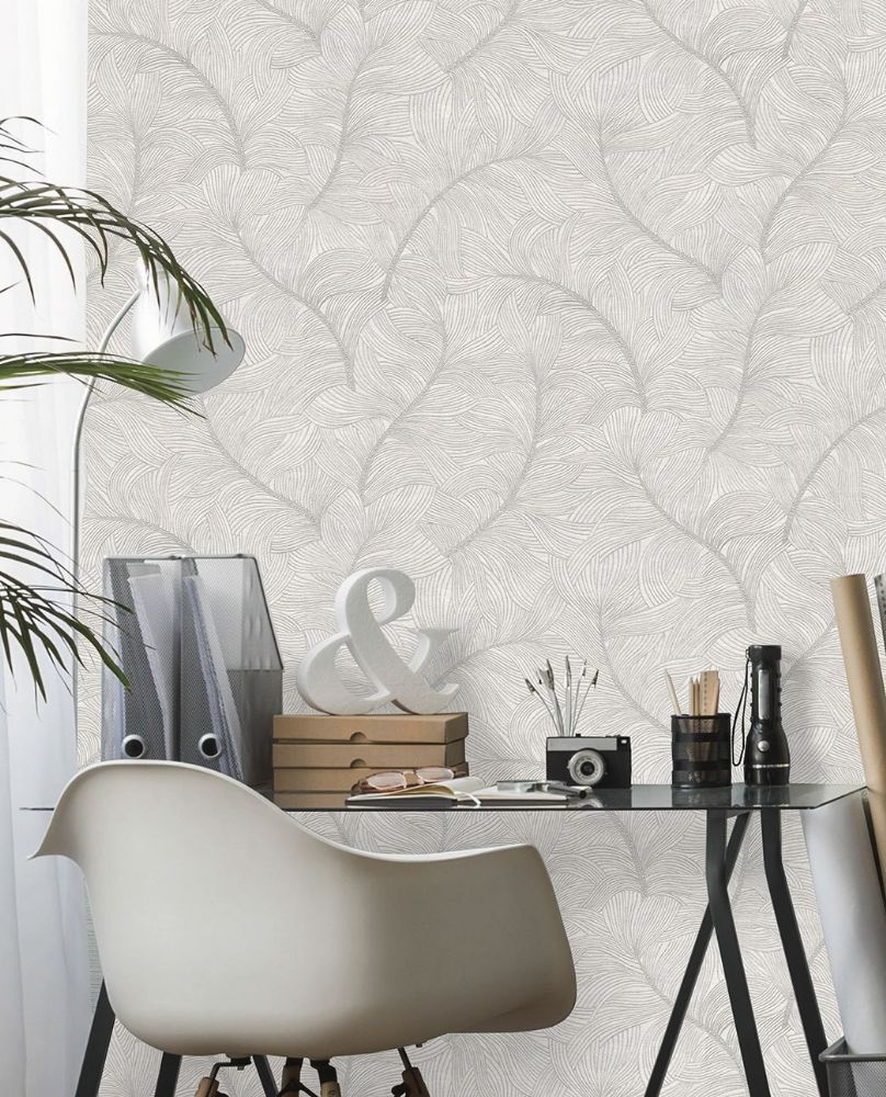 Belgravia Merano Ice Feather 2761 Wallpaper